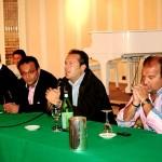 Da sinistra: Mimmo Di Corato, Mauro Di Modugno, il sindaco Francesco Spina e Pinuccio Rossi