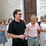 Gerardo Strippoli (a sinistra) Presidente Pro Loco Corato; Enzo De Feduis, Presidente Pro Loco Bisceglie