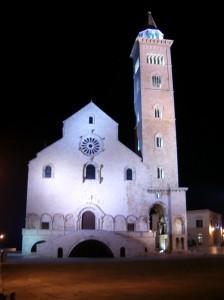 cattedrale trani notte2