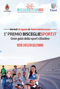 Premio BisceglieSport - locandina