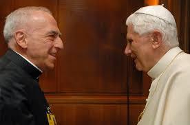 Mons Prof Bux e Papa Ratzinger