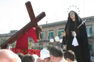Bisceglie, l'Incontro del Venerdì Santo