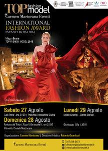 Top Fashion Model 2016 - Flyer