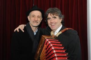 Beppe Servillo e  Ambrogio Sparagna
