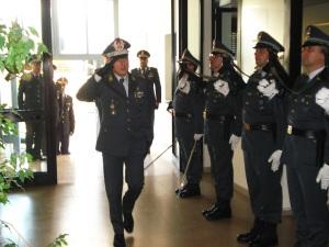 Il Comandante Regionale Puglia della Guardia di Finanza, Generale di Divisione Vito Augelli