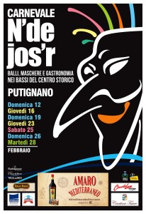 Putignano Locandina Carnevale N'de Josr 2017