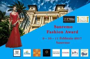 Sanremo Fashion Award 2017 - Locandina