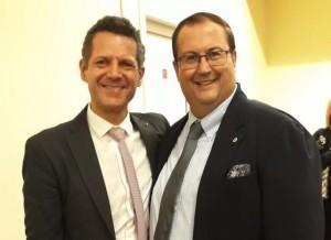 Da sinistra: Nicola Losapio e Fabio De Nunzio