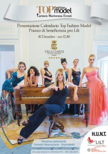 Presentazione Calendario Top Fashion Model 2018