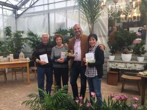 Da sinistra: Gaicinto Galantino, Maria Carmela Todisco, Fausto Borella e Anna Catino