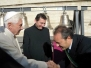 Udienza Papa Benedetto XVI Sindaco Spina - 16 nov 2011